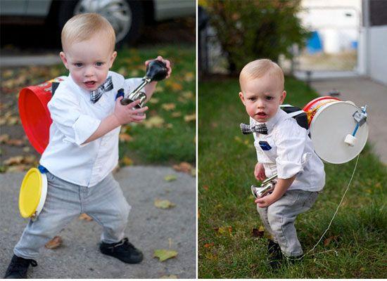 disfraz de hombre orquesta para niños
