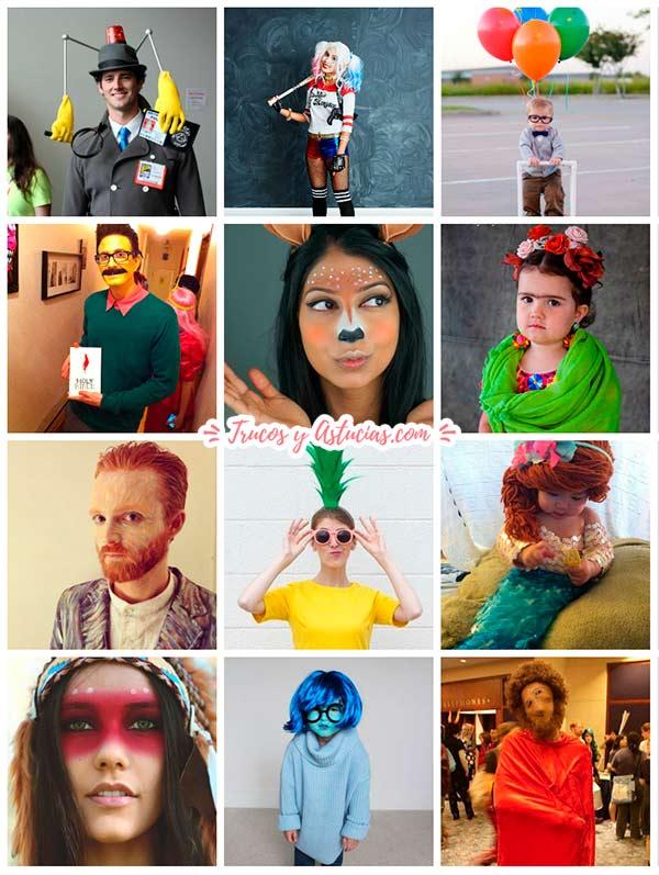 Ideas originales para disfrazarse en carnaval trucos y - Disfraces caseros adulto ...