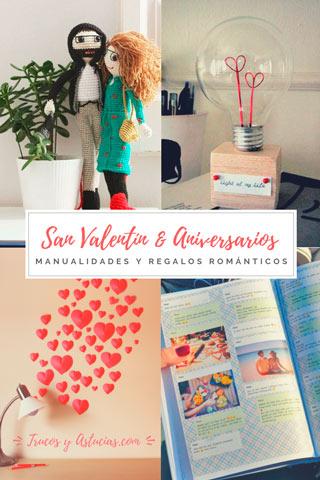 manualidades e ideas originales para regalar por san valentin