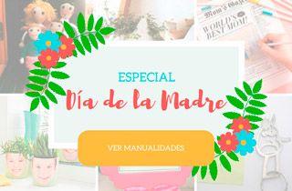 banner especial regalos originales y manualidades para el dia de la madre