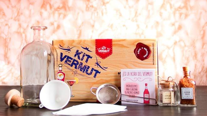 pack para hacer tu propio vermut casero, buena idea para regalar en el dia de la madre