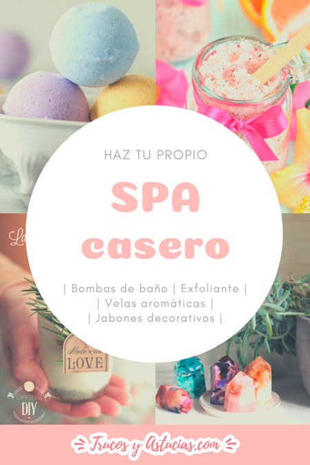 Regalo casero ideal para mamá: spa casero con bombas de baño, exfoliante, jabon decorativo y velas de aromaterapia