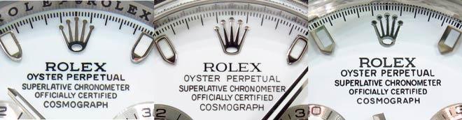 diferencias logotipo corona rolex original falso