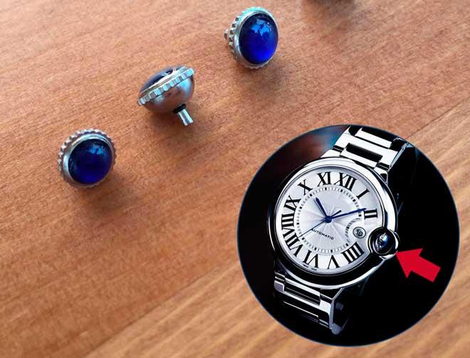 recambios para corona de reloj cartier imitación