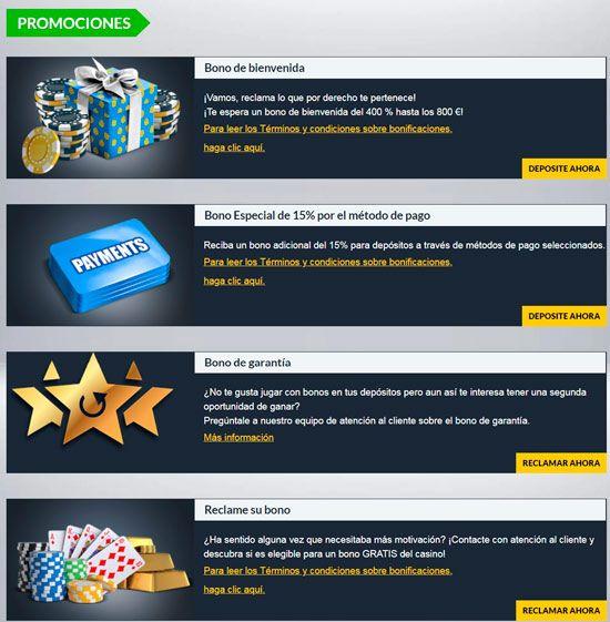 bonos de fidelización para jugadores de casino online