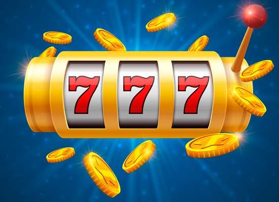 777 premio en maquina tragaperras de 3 rodillos