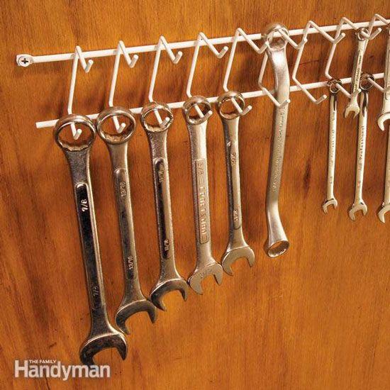 colgador para herramientas casero