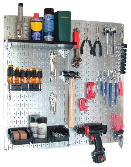 tablon de herramientas metálico