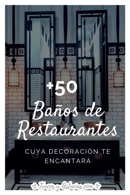 ideas decoracion baños de restaurantes y negocios