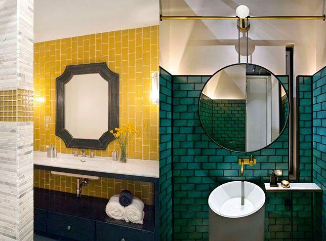 azulejos de color, ejemplos de decoracion de restaurantes y hoteles