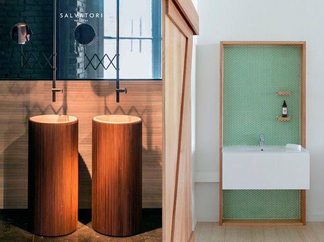 lavamanos minimalistas y originales de hoteles y restaurantes