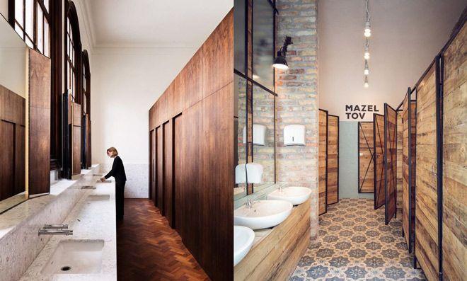 decoracion para baños, moda en restaurantes, suelos
