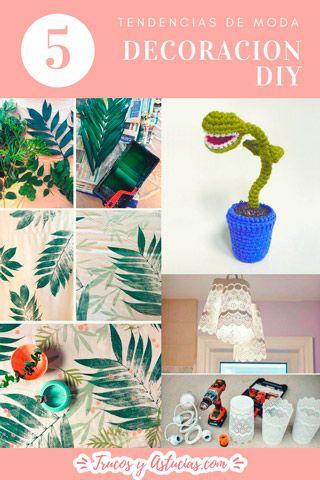 tendencias de moda para decoracion diy del hogar