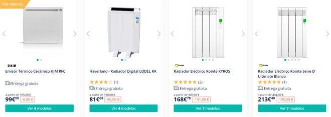 tienda online especializada en radiadores y estufas eléctricas