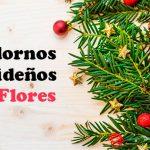 7 Adornos de Navidad con Flores