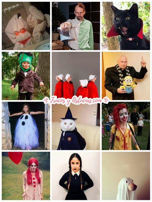 disfraces originales de halloween para hacer en casa