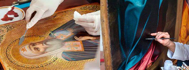 trucos y consejos para reparar de forma casera obras de arte