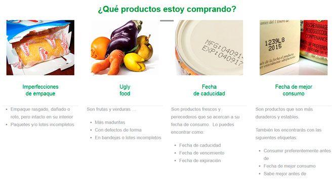 ahorrar al comprar en supermercados online comida defectuosa, caducada etc