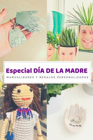 ideas personalizadas y manualidades diy originales para regalar a mamá en el día de la madre