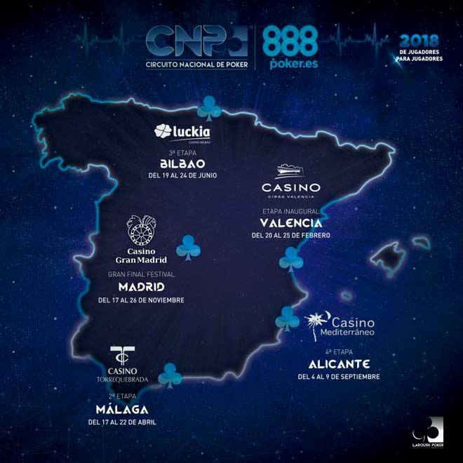 Circuito Cnp : ▷ 【cnp888 2019】circuito nacional de poker: información completa