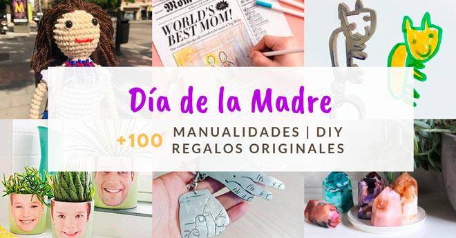 ideas personalizadas y manualidades para regalar a mamá por el día de la madre