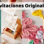 +50 Invitaciones Originales y Caseras para Bodas, Bautizos y Comuniones