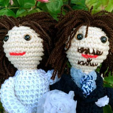amigurumis muñecos personalizados para boda