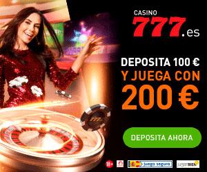 bono de bienvenida para el casino online casino777