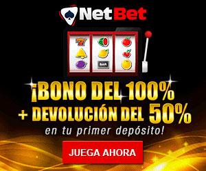 bono de bienvenida para el casino online netbet
