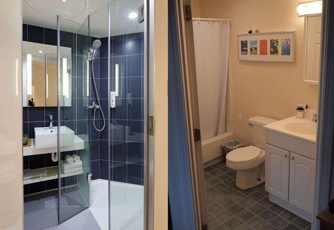 ventajas e inconvenientes de poner mampara o cortina en el baño o ducha