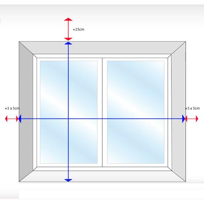 cómo tomar las medidas para instalar una persiana alicantina exterior
