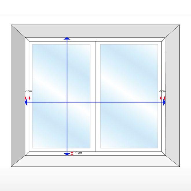 cómo tomar las medidas para instalar una persiana alicantina interior