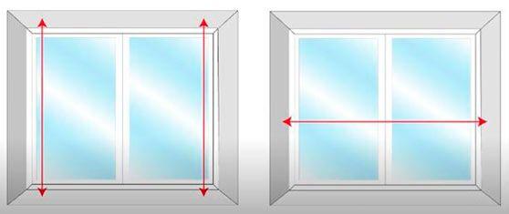 cómo tomar medidas para instalar una mosquitera plisada en una ventana de casa