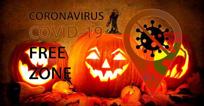 consejos y trucos para montar una fiesta de halloween segura con el coronavirus y el covid-19