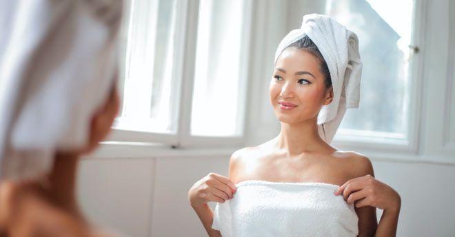 no ponerse desodorante después de la ducha