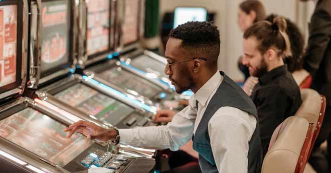 tragaperras en un casino